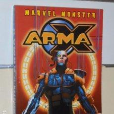 Comics: MARVEL MONSTER ARMA X - PANINI OFERTA (ANTES 25,00 €). Lote 69009221