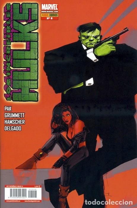 LOS INCREIBLES HULKS Nº 8 - PANINI - GREG PAK Y TOM GRUMMET (Tebeos y Comics - Panini - Marvel Comic)