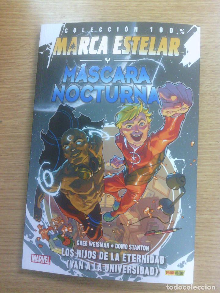 MARCA ESTELAR Y MASCARA NOCTURNA #1 LOS HIJOS DE LA ETERNIDAD (Y VAN A LA UNIVERSIDAD) (100% MARVEL) (Tebeos y Comics - Panini - Marvel Comic)