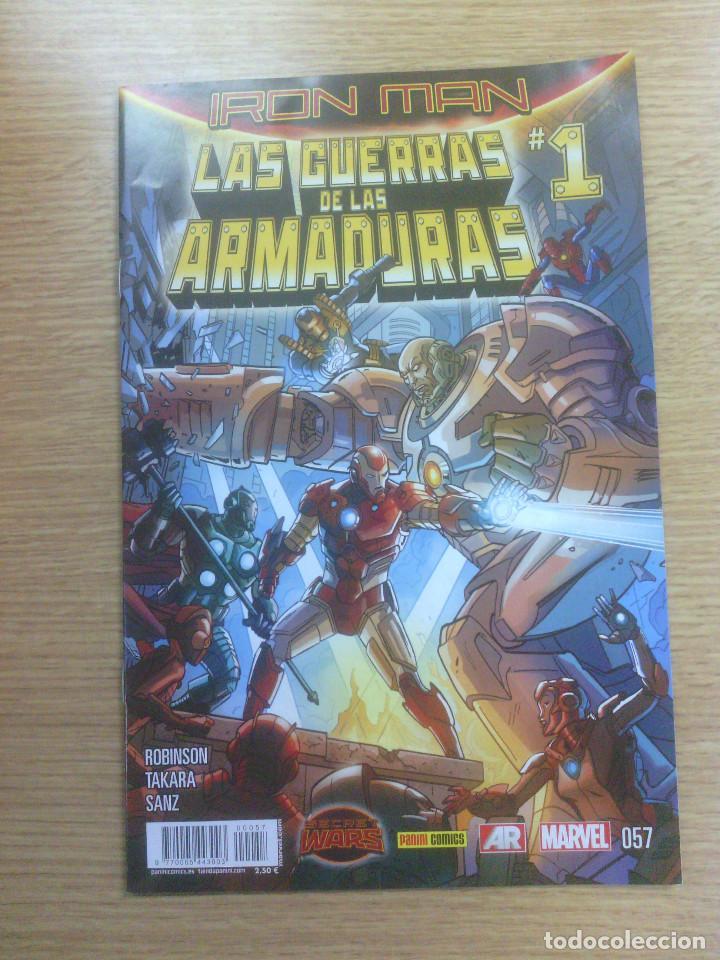 IRON MAN VOL 2 #57 - LA GUERRA DE LAS ARMADURAS #1 (SECRET WARS) (Tebeos y Comics - Panini - Marvel Comic)