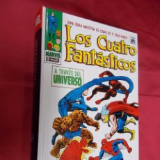 Cómics: LOS 4 FANTASTICOS. A TRAVES DEL UNIVERSO. OMNIGOLD. MARVEL COMICS GROUP. PANINI.. Lote 70441049