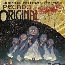 Cómics: PECADO ORIGINAL Nº 4 EL JUICIO FINAL - ÚLTIMO NÚMERO - JASONAARON & MIKE DEODATO - NÚMERO DOBLE . Lote 71131109