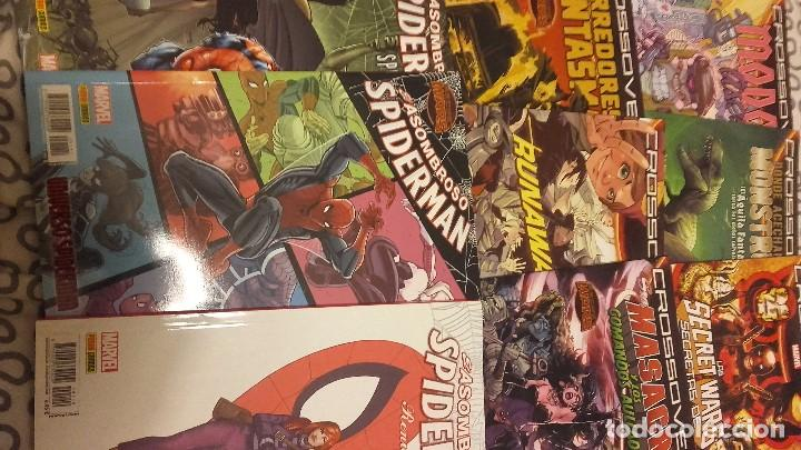 LOTE SECRET WARS: X-MEN 92 +MUNDO D BATALLA + MARVEL ZOMBIES + SPIDERMAN MASACRE RUNAWAYS CROSSOVERS (Tebeos y Comics - Panini - Marvel Comic)