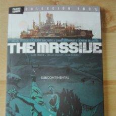 Cómics: THE MASSIVE: SUBCONTINENTAL TOMO 2. COLECCIÓN 100%, PANINI. Lote 71169823
