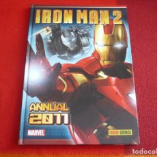 Cómics: IRON MAN 2 ANNUAL 2011 ( FRED VAN LENTE ERSKINE CORDEIRO ) ¡COMO NUEVO! MARVEL PANINI TAPA DURA. Lote 83604099