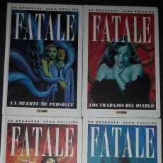 Cómics: FATALE TOMOS 1 , 2 , 3 Y 4 TAPA DURA ED BRUBAKER SEAN PHILLIPS EDITORIAL PANINI COMICS. Lote 118886007
