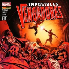 Cómics: IMPOSIBLES VENGADORES Nº 44 - PANINI GERRY DUGGAN & PEPE LARRAZ . Lote 74169887