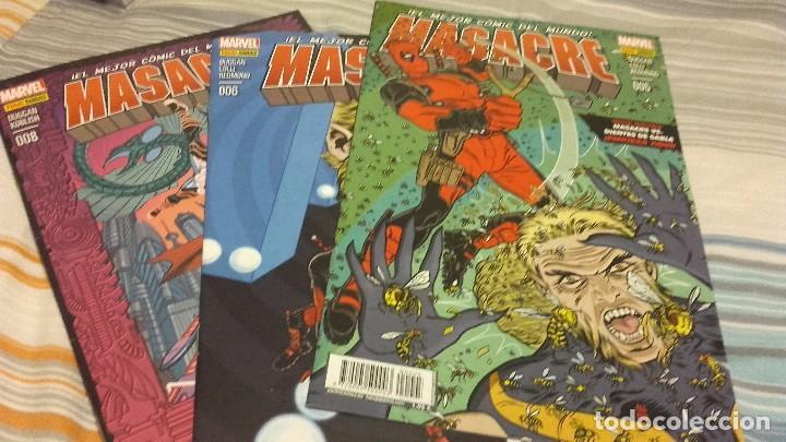 MASACRE VOL 3 PANINI NºS 4 5 6 7 8 11 12 14 15 16 17 18 21 22 23 24 25 26 27 28 PANINI (Tebeos y Comics - Panini - Marvel Comic)