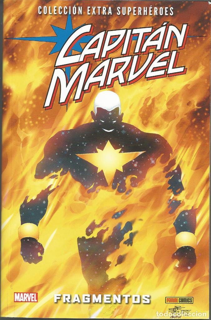 COLECCIÓN EXTRA SUPERHÉROES 65. CAPITÁN MARVEL 3 (Tebeos y Comics - Panini - Marvel Comic)