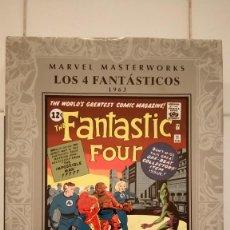 Cómics: MARVEL MASTERWORKS: LOS 4 FANTASTICOS 2: (1963) DE STAN LEE, JACK KIRBY. Lote 74614875