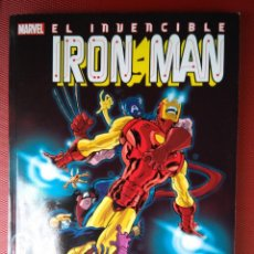 Cómics: EL INVENCIBLE IRON MAN CONTROL REMOTO ( TIERI QUESADA MARTINEZ RYAN) PANINI MARVEL. Lote 74852847