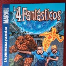 Cómics: LOS 4 FANTÁSTICOS LA PRIMERA FAMILIA TOMO PANINI HISTORIA COMPLETA 130 PÁGINAS. Lote 74853103