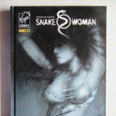 Cómics: SNAKE WOMAN - VIRGIN COMICS - SHEKHAR KAPUR, ZEB WELLS Y MICHAEL G - PANINI - TAPA DURA - MUY BUENO. Lote 75128991