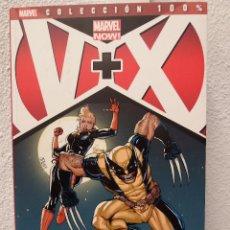 Cómics: V + X - COLECCIÓN 100% - ASOMBROSO. Lote 75873535