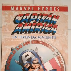 Cómics: MARVEL HEROES: CAPITAN AMERICA: LA LEYENDA VIVIENTE DE JOHN BYRNE, ROGER STERN. Lote 76011139