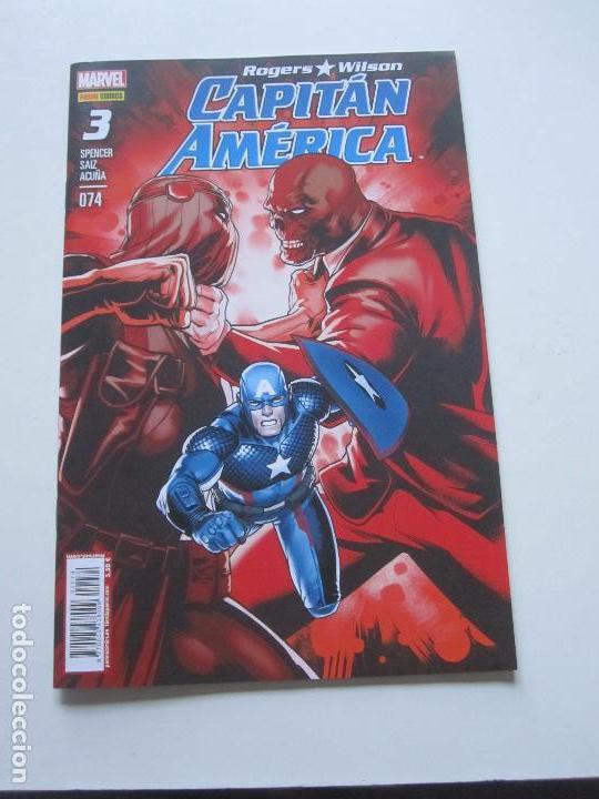 ROGERS WILSON CAPITAN AMERICA Nº 3 - PANINI / MARVEL 2016 E10X1 (Tebeos y Comics - Panini - Marvel Comic)