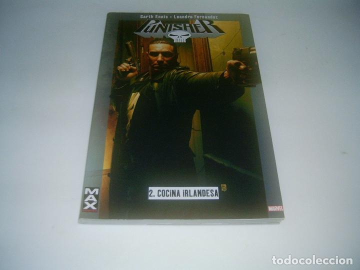 COMIC PUNISHER MAX 2: COCINA IRLANDESA (Tebeos y Comics - Panini - Marvel Comic)