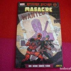 Cómics: MASACRE 2 NEGOCIO DE TERROR REINADO OSCURO ( DANIEL WAY ) ¡MUY BUEN ESTADO! PANINI HEROES MARVEL. Lote 80910639