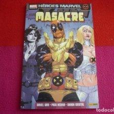 Cómics: MASACRE 4 OLEADA DE MUTILACION ( DANIEL WAY PACO MEDINA ) ¡MUY BUEN ESTADO! PANINI HEROES MARVEL. Lote 91686364