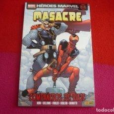 Cómics: MASACRE 9 COMPAÑEROS DE VIAJE ( ROB WILLIAMS ) ¡MUY BUEN ESTADO! PANINI HEROES MARVEL. Lote 77385265