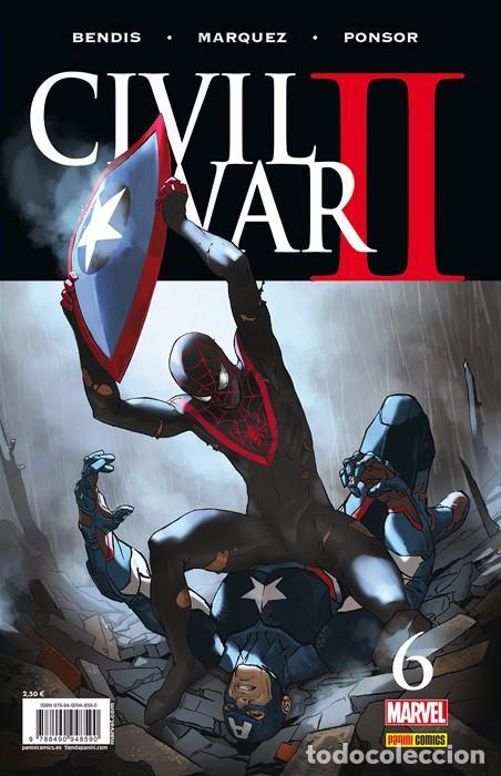 CIVIL WAR II Nº 6 - BENDIS Y DAVID MARQUEZ - PANINI (Tebeos y Comics - Panini - Marvel Comic)
