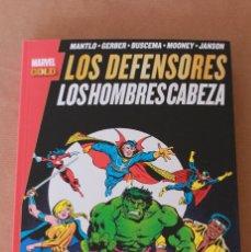 Cómics: MARVEL GOLD PANINI - LOS DEFENSORES - LOS HOMBRES CABEZA - NUEVO (PRECINTADO). Lote 245142290