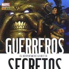 Cómics: GUERREROS SECRETOS Nº 12 - PANINI - IMPECABLE. Lote 79984077