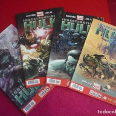 Cómics: HULK VOL. 2 NºS 10, 11, 12 Y 13 ( MARK WAID YU ) ¡COMO NUEVOS! MARVEL NOW PANINI 2013. Lote 80077861