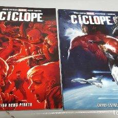 Cómics: CICLOPE ¡ COMPLETA 2 TOMOS ! MARVEL - PANINI. Lote 57388653
