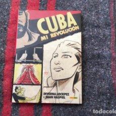 Cómics: CUBA MI REVOLUCIÓN POR INVERNA LOCKPEZ Y DEAN HASPIEL. Lote 80443893