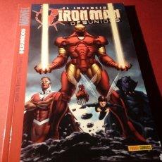 Cómics: EL INVENCIBLE IRON MAN DESUNIDOS EXCELENTE ESTADO PANINI COMICS. Lote 95507943
