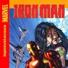 Cómics: IRON MAN: HIPERVELOCIDAD - PANINI - DESCUENTO 20 %. Lote 82528580