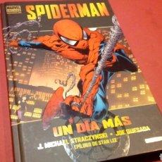 Cómics: SPIDERMAN UN DÍA MÁS MARVEL DELUXE EXCELENTE ESTADO PANINI COMICS. Lote 82963392
