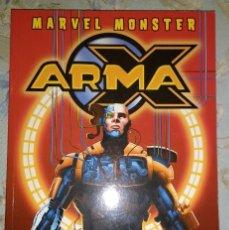 Cómics: MARVEL MONSTER: ARMA X. Lote 83959456