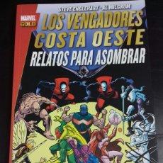 Los Vengadores Costa Oeste: Relatos para Asombrar (Marvel Gold) - Englehart - Milgrom - Panini