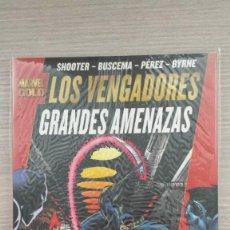 Cómics: LOS VENGADORES GRANDES AMENAZAS MARVEL GOLD RÚSTICA (PANINI). Lote 85658536