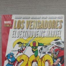 Cómics: LOS VENGADORES EL DESTINO DE MS MARVEL MARVEL GOLD RÚSTICA (PANINI). Lote 85659504