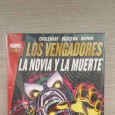 Cómics: LOS VENGADORES LA NOVIA Y LA MUERTE MARVEL GOLD RÚSTICA (PANINI). Lote 85734016