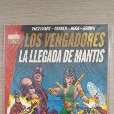 Cómics: LOS VENGADORES LA LLEGADA DE MANTIS MARVEL GOLD RÚSTICA (PANINI). Lote 85735248