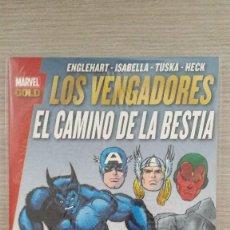 Cómics: LOS VENGADORES EL CAMINO DE LA BESTIA MARVEL GOLD RÚSTICA (PANINI). Lote 85736048
