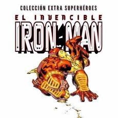 Cómics: COL. EXTRA SUPERHÉROES IRON MAN EL HOMBRE DE LA MÁSCARA DE HIERRO JOE QUESADA, SEAN CHEN,. Lote 86405324
