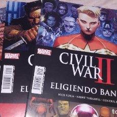 Cómics: CIVIL WAR II ELIGIENDO BANDO CASI COMPLETA NºS 1 3 Y 5 -PANIN. Lote 86405388