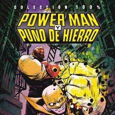 Cómics: COL 100% MARVEL POWER MAN Y PUÑO DE HIERRO 1 LOS CHICOS HAN VUELTO PANINI TAPA DURA WALKER GREENE. Lote 86440788