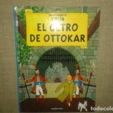 Cómics: TINTIN EL CETRO DE OTTOKAR CASTERMAN PANINI 2001. Lote 86728012