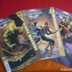 Cómics: ULTIMATE SPIDERMAN VOL. 2 NºS 23, 24 Y 25 (BENDIS BAGLEY ) EDICION ESPECIAL ¡MUY BUEN ESTADO! PANINI. Lote 86798336