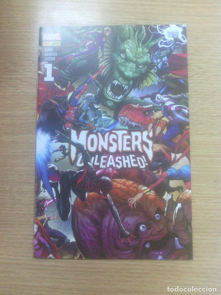 MONSTERS UNLEASHED #1 (Tebeos y Comics - Panini - Marvel Comic)