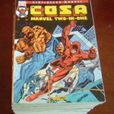 Cómics: BIBLIOTECA - LA COSA - COMPLETA 16 COMICS - PANINI. Lote 87027552