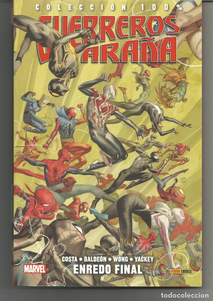100% MARVEL. GUERREROS ARAÑA 2 ENREDO FINAL PANINI CÓMICS (Tebeos y Comics - Panini - Marvel Comic)