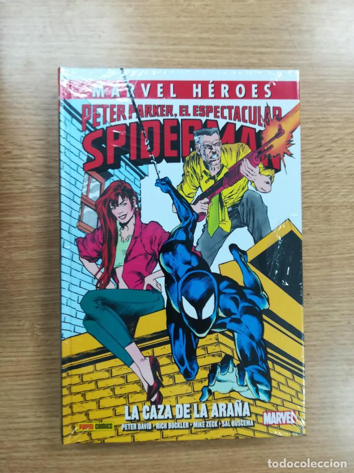PETER PARKER EL ESPECTACULAR SPIDERMAN LA CAZA DE LA ARAÑA (MARVEL HEROES COLECCIONABLE #80) (Tebeos y Comics - Panini - Marvel Comic)