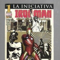 Cómics: TEBEO. IRON MAN. DIRECTOR DE SHIELD. LA INICIATIVA. Nº 1. MARVEL. Lote 89166164